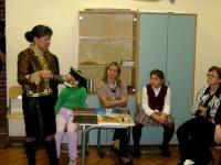 В школе на Рублевке дети заговорили на тувинском языке