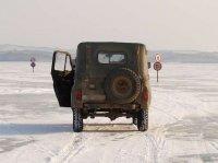 В Туве откроются четыре ледовые переправы
