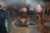 """In Tuva, """"Kreshchenie"""" baths took place in -45 degree of cold"""