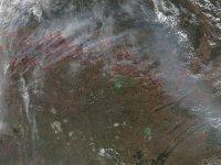В Туве расширяют систему космомониторинга лесных пожаров
