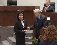 Галина Мунзук приступила к обязанностям сенатора от Тувы