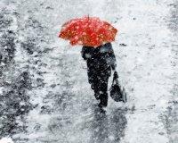 В Туве после летней погоды отмечен сильный ветер со снегом