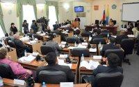 Глава Тувы отчитался по итогам года в парламенте