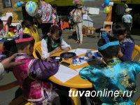 В Туве 1 июня для всех желающих были проведены творческие мастер-классы