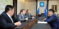 Главе Тувы представили нового руководителя Следственного управления по республике