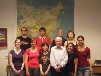 Студентам Боннского Университета рассказали о Туве