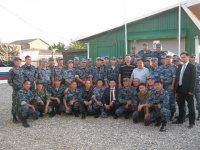 Глава Республики Тыва прибыл в Чечню, где находится в служебной командировке сводный отряд милиции из Тувы