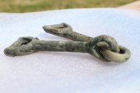 Bronze bit was discovered by archeologists in Tuva