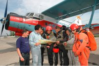 Tuvan paratroopers-firefighters will help to fight fires in Yakutia and Archangelsk region