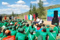 Глава Тувы встретился с участниками молодежного форума