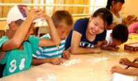 В Туве организован полезный отдых детей из малообеспеченных семей