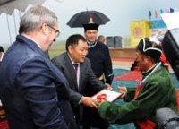 В Туве призовые юрты получили 17 лучших животноводов республики