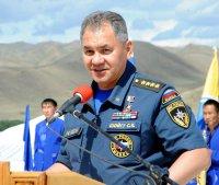 Глава МЧС России Сергей Шойгу поздравил земляков с юбилеем республики и Наадымом