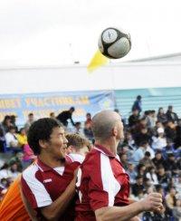 В Туве возрождается футбол
