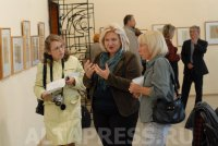 Exhibition of Nadia Rusheva's drawings opens in Barnaul