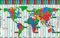 Тува, Хакасия, Красноярский край и Иркутская область вошли в пятую часовую зону