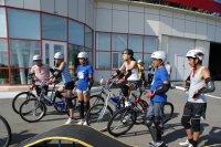 Школьница из Тувы завоевала на всероссийском слете серебро в фигурном вождении велосипеда