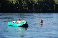 В Туве состоялись соревнования по рыбной ловле