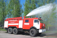 Туранский лесхоз (Тува) получил впервые за последние 25 лет новую пожарную технику