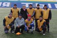 Команда налоговиков заняла первое место на футбольном турнире в Туве