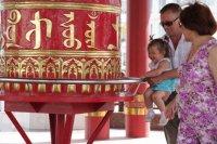 В Туве освятили 36 молитвенных барабанов