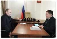 Перспективы Тувы обсуждались на встрече Владимира Путина и Шолбана Кара-оола