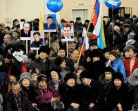 В Туве митинги в поддержку инициатив Путина собрали около 4 тысяч человек
