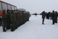 Из командировки в Чечню вернулись бойцы тувинского ОМОНа