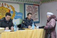 Министр внутренних дел Тувы провел прием граждан в Чеди-Хольском районе