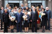 Глава Тувы вручил государственные награды связистам
