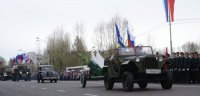 Единороссы Тувы украсили парадные расчеты Парада Победы раритетной техникой