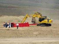 На месте будущей железнодорожной станции «Кызыл-Грузовой» начались строительные работы