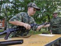 В Туве открыта военно-патриотическая смена в детском лагере