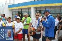 Во Всемирной факельной эстафете принял участие и тувинский «Спартак»