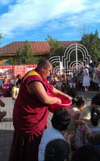 Завершился визит в Туву официальной делегации тибетского монастыря Дрепунг Гоманг