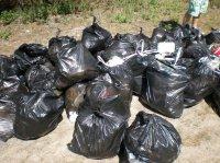 Сразу 8 жителей Чаа-Холя наказали за выброс мусора в неположенном месте