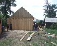 В Туве строят дома для тех, кто лишился жилья в результате декабрьского землетрясения