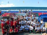 Юные футболисты из Тувы заняли 4-е место на турнире «Кожаный мяч» в СФО!