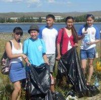 Юных жителей столицы Тувы приглашают участвовать в уборке набережной Енисея