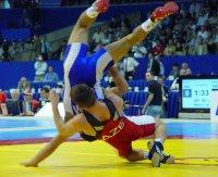 В Баку на чемпионате мира среди юношей участвует борец из Тувы Ондар Ай-Хаан