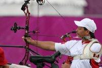 В полуфинальных спаррингах в стрельбе из лука на Паралимпиаде в Лондоне участвует Михаил Оюн