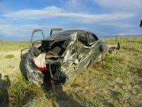 В Туве превышение скорости водителем привело к гибели четырех человек