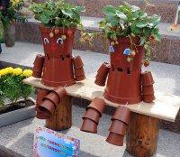 Чудо-овощи и цветочные композиции – на главной площади Тувы