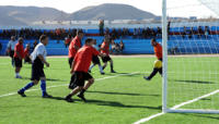 Современное футбольное поле появится в поселке Каа-Хем (Тува)