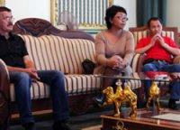 Представители тувинского театра дали пресс-конференцию для чеченских СМИ