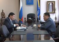Глава Тувы озадачил мэра Кызыла насущными вопросами подготовки к юбилею столицы