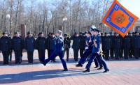 Главному управлению МЧС России по Туве вручено боевое знамя