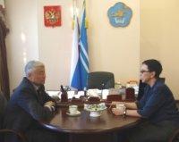 В Туве с рабочим визитом находится депутат ГосДумы Лариса Шойгу