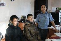 В Туве школьники помогли полицейским разыскать пропавшего мальчика