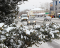 В Туве в связи с обильным снегопадом перед руководством муниципалитетов поставлена задача работать в особом режиме